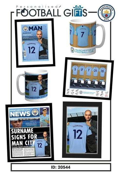 Manchester City Bestsellers