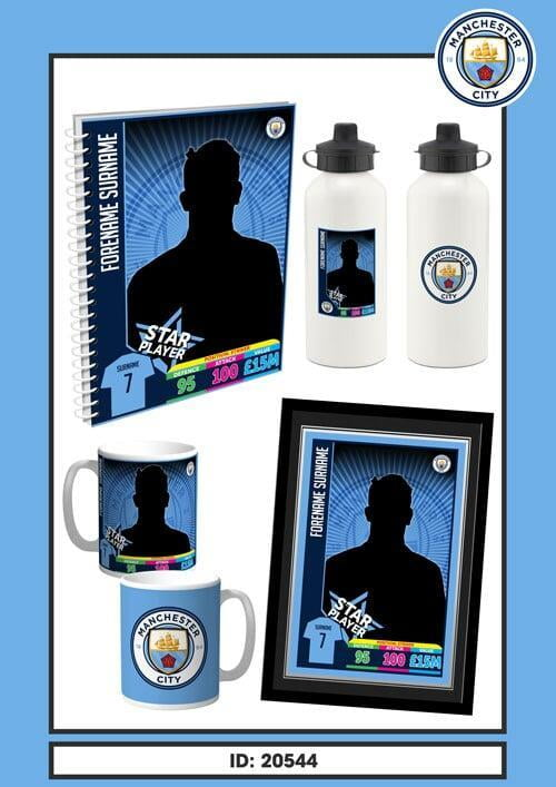 Manchester City Trading Card