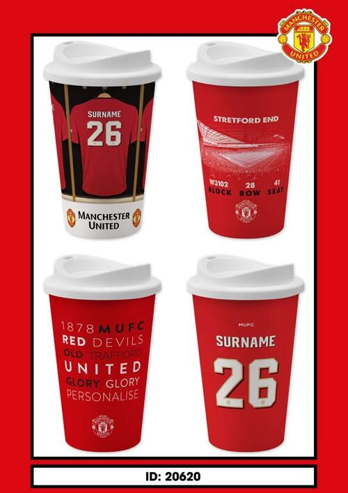 Manchester United Reusable Cups