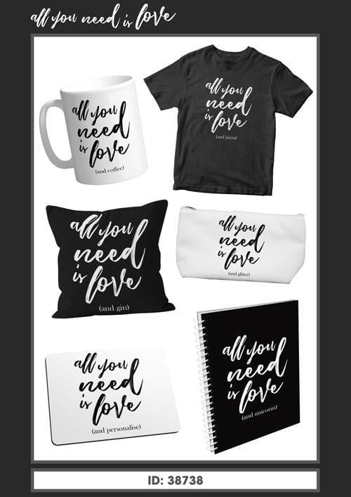 All you need is love Range