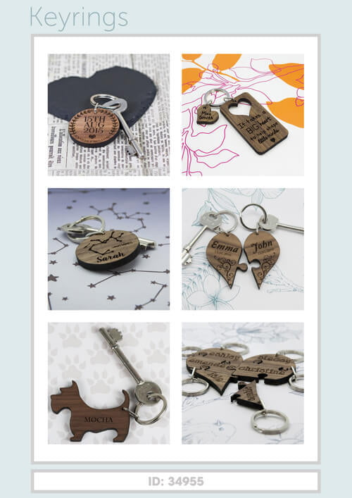 Treat Gifts - Keyrings