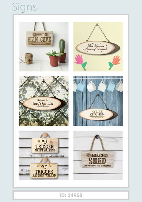 Treat Gifts - Signs