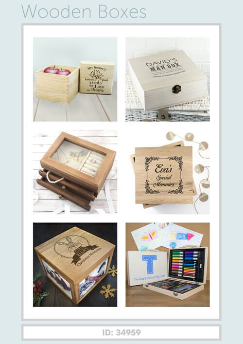 Treat Gifts - Wooden Boxes