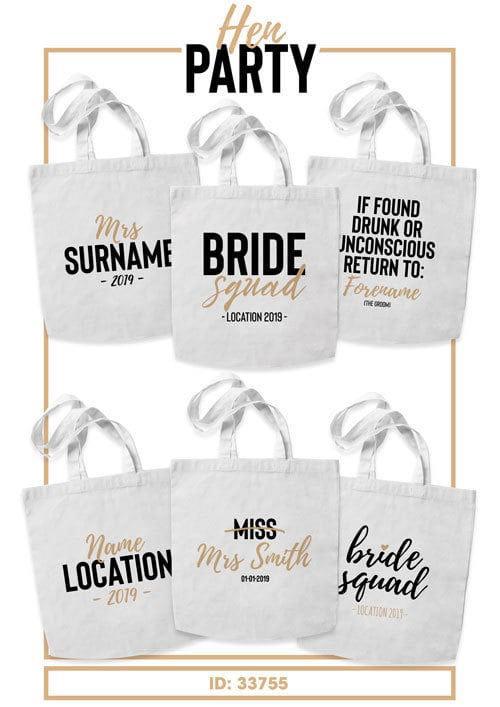 Hen Party Tote Bags